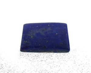 10.64 ct 16x11mm Rectangle/Cushion Natural Fine Blue Lapis Lazuli Gemstone - Skyjems Wholesale Gemstones