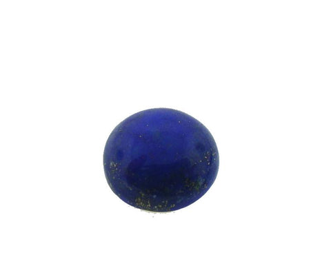 8.58 ct Round Natural Fine Blue Lapis Lazuli Gemstone