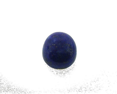 4.97 ct 12x9mm Oval Natural Fine Blue Lapis Lazuli Gemstone - Skyjems Wholesale Gemstones