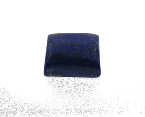 4.7 ct Rectangle/ Cushion Natural Fine Blue Lapis Lazuli Gemstone - Skyjems Wholesale Gemstones