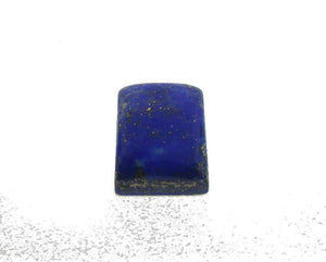 4.63 ct Rectangle/Cushion Natural Fine Blue Lapis Lazuli Gemstone - Skyjems Wholesale Gemstones