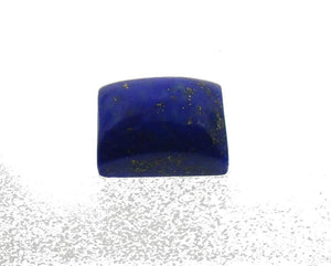 6.61 ct Rectangle/ Cushion Natural Fine Blue Lapis Lazuli Gemstone