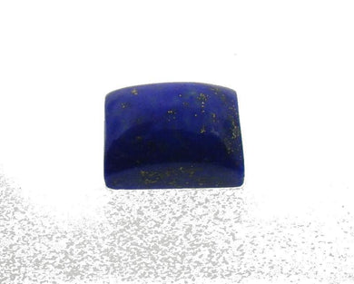 6.61 ct Rectangle/ Cushion Natural Fine Blue Lapis Lazuli Gemstone - Skyjems Wholesale Gemstones