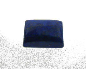 7.07 ct Rectangle/ Cushion Natural Fine Blue Lapis Lazuli Gemstone - Skyjems Wholesale Gemstones