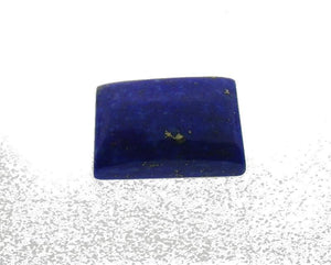 7.45 ct Rectangle/ Cushion Natural Fine Blue Lapis Lazuli Gemstone - Skyjems Wholesale Gemstones