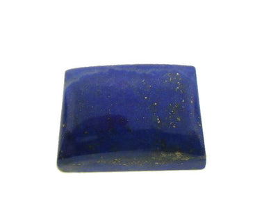 10.2 ct Rectangle/Cushion Natural Fine Blue Lapis Lazuli Gemstone - Skyjems Wholesale Gemstones