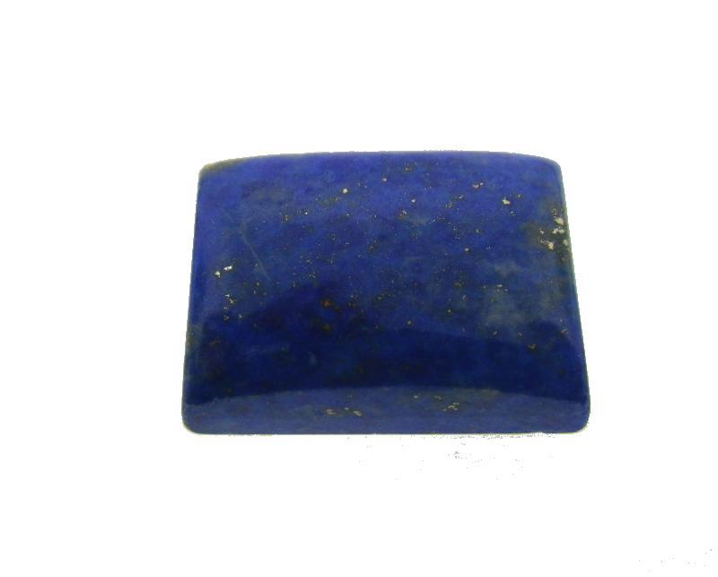 13.26 ct Rectangle/ Cushion Natural Fine Blue Lapis Lazuli Gemstone