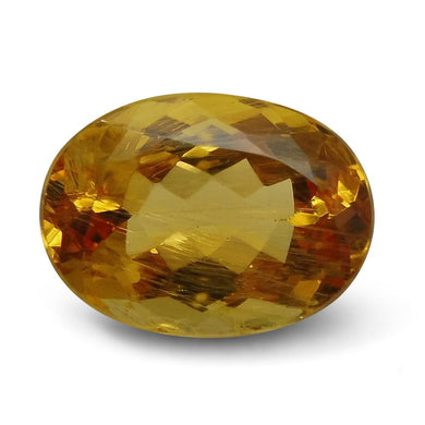 6.51 ct Oval Yellow Topaz/Golden Topaz CGL-GRS Certified - Skyjems Wholesale Gemstones