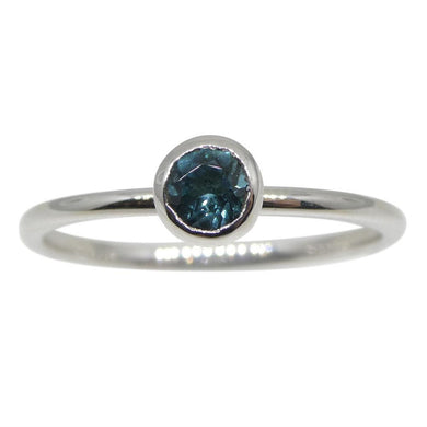 Tourmaline Stacker Ring set in 10kt White Gold - Skyjems Wholesale Gemstones