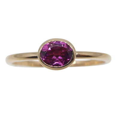 Tourmaline Stacker Ring set in 10kt Pink/Rose Gold - Skyjems Wholesale Gemstones
