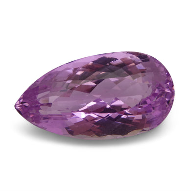 Kunzite 21.84 cts 23.71x12.79x10.19mm Pear Slightly Purplish Pink  $260