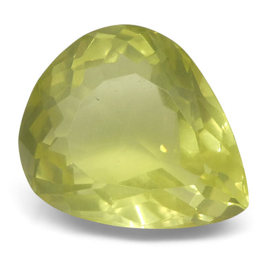 15.87 ct Pear Lemon Citrine - Skyjems Wholesale Gemstones