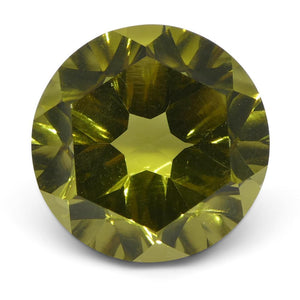 9.61ctRound Lemon Citrine Fantasy/Fancy Cut - Skyjems Wholesale Gemstones