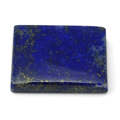 13.84 ct Rectangle Natural Fine Blue Lapis Lazuli Gemstone - Skyjems Wholesale Gemstones