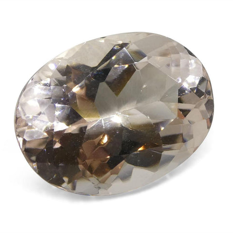 7.46 ct Oval Morganite