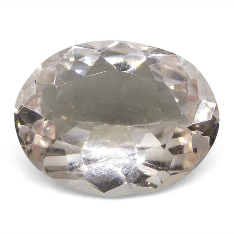 5.34 ct Oval Morganite