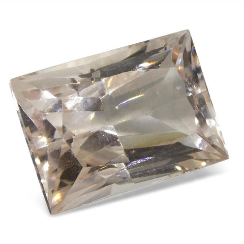8.16 ct Baguette Morganite