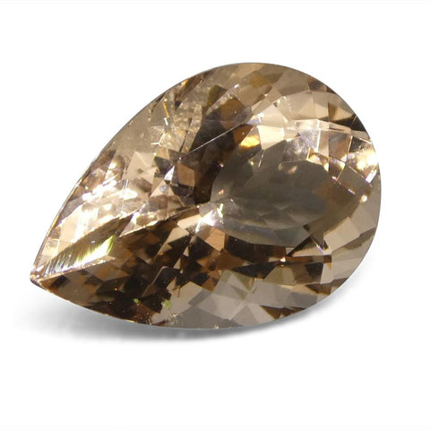 3.96 ct Pear Morganite