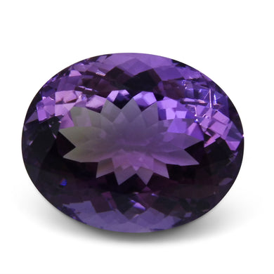 Amethyst 20.25 cts  Oval Purple  $100