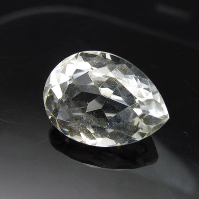 31.67 ct Pear Shape White Quartz - Skyjems Wholesale Gemstones