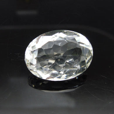 20.95 ct Oval White Quartz