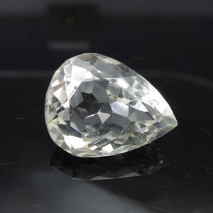 22.42 ct Pear Shape White Quartz