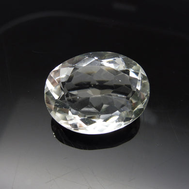 20.25 ct Oval White Quartz