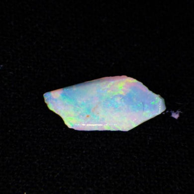 0.42 ct Natural N9 Rough Green fire flash lightning ridge Australian opal - Skyjems Gemstones Gems