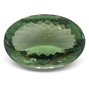 58.35ct Prasiolite Oval (Green Amethyst) - Skyjems Wholesale Gemstones