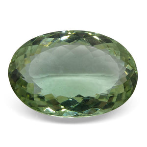45.75 ct Oval Prasiolite (Green Amethyst) - Skyjems Wholesale Gemstones