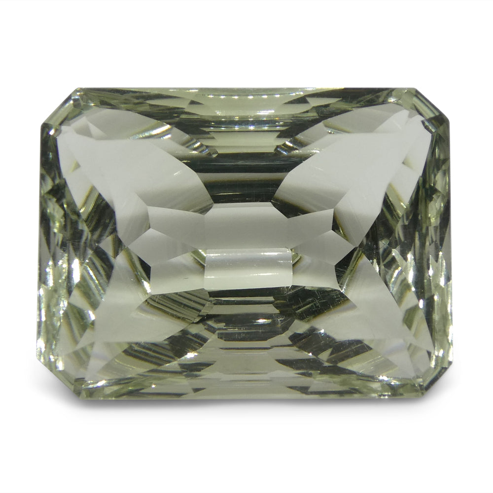 10.03ct Emerald Cut Prasiolite Fantasy/Fancy Cut