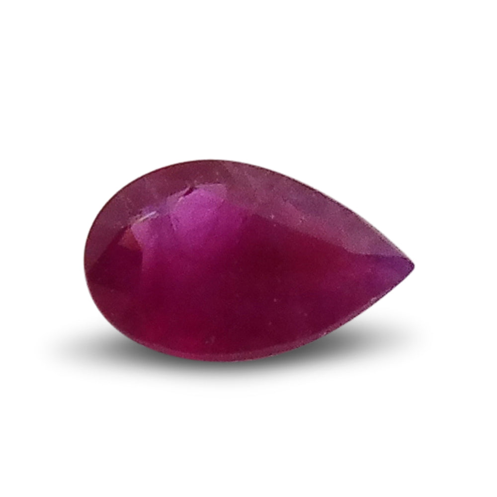 0.19 ct Pear Ruby