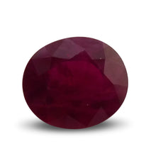 2.36 ct Oval Ruby