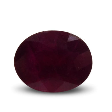 1.48 ct Oval Ruby