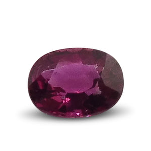0.66 ct Oval Ruby - Skyjems Gemstones Gems