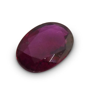 0.50 ct Oval Ruby - Skyjems Gemstones Gems
