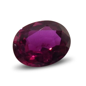 0.68 ct Oval Ruby - Skyjems Gemstones Gems