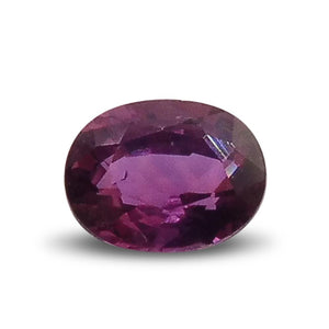 0.48 ct Oval Ruby - Skyjems Wholesale Gemstones
