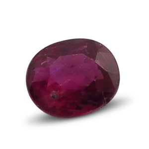0.34 ct Oval Ruby - Skyjems Wholesale Gemstones