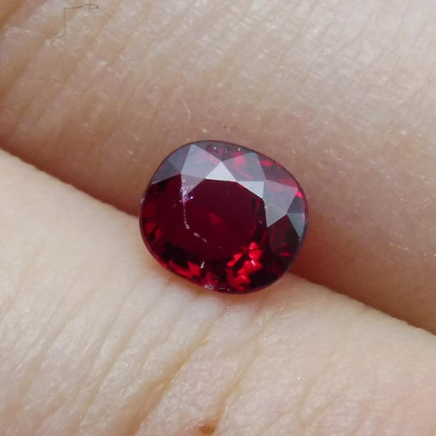 0.41 ct Natural Ruby