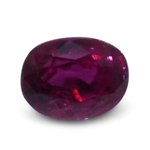 0.42 ct Oval Ruby - Skyjems Wholesale Gemstones