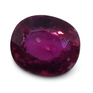 0.33 ct Oval Ruby - Skyjems Wholesale Gemstones