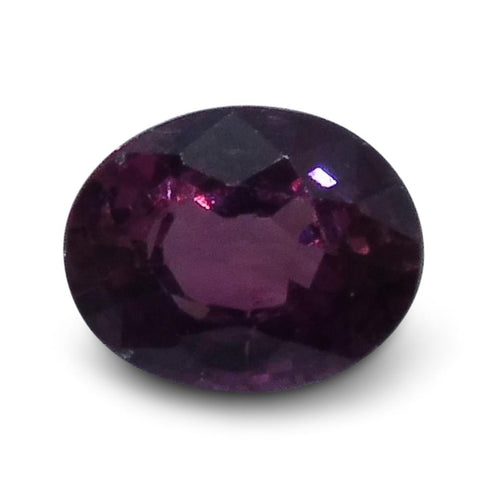 0.48 ct Oval Ruby