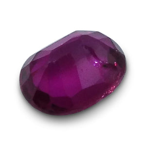0.26 ct Oval Ruby