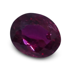 0.31 ct Oval Ruby - Skyjems Wholesale Gemstones