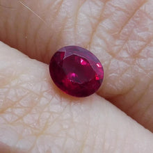 Ruby 0.38 cts  Oval Red  $75