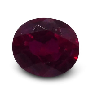 0.38 ct Oval Ruby - Skyjems Wholesale Gemstones