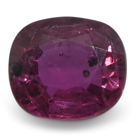 0.41 ct Oval/Cushion Ruby Thailand