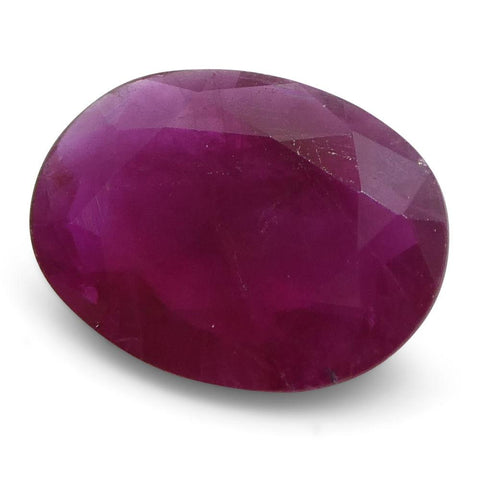 0.93 ct Oval Ruby Burma