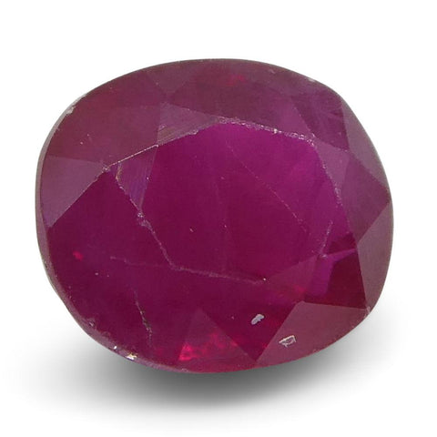 0.75 ct Oval Ruby Burma